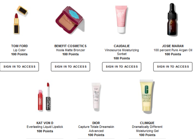 Welcome to the Beauty Insider Rewards Bazaar Sephora canada