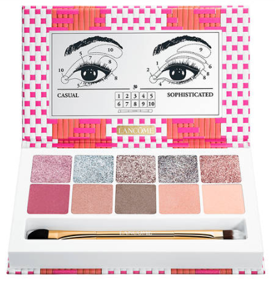café bonheur le harmony eyeshadow palette lancôme icangwp blog jan 2019