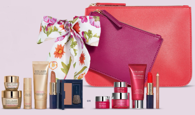 2942a4d35d5 Estee Lauder 7-piece Free Gift Your Choice UP TO A $170 VALUE with ...