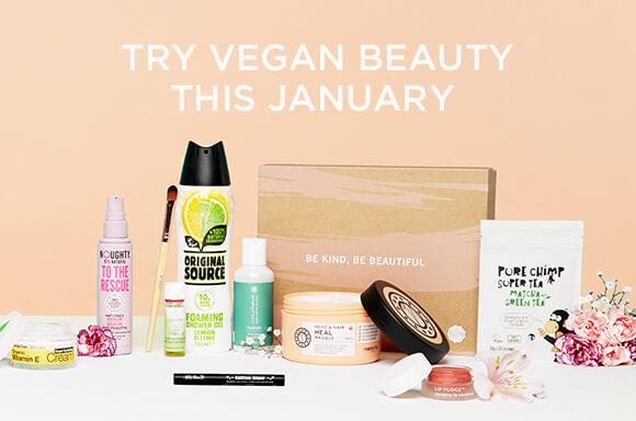 glossybox vegan