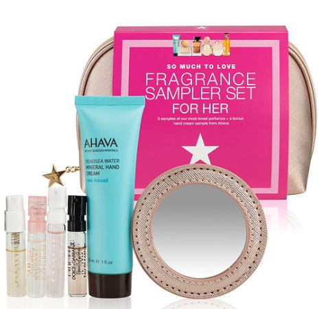 macy s 8 pc. so much to love fragrance sampler set for her all perfume beauty macy s