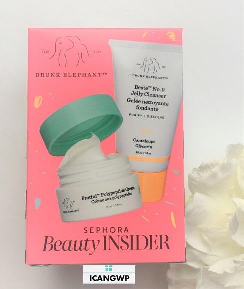 sephora BIRTHDAY GIFT DRUNK ELEPHANT icangwp blog