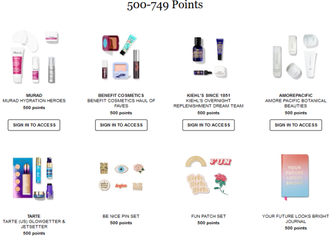 welcome to the beauty insider rewards bazaar sephora