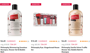 Beauty Products on Doorbuster Stage Stores