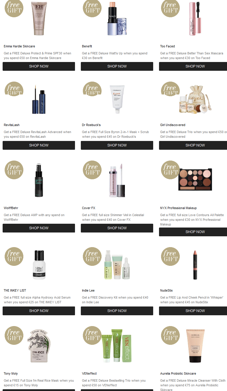 What S In The Cult Beauty Goody Bag February 2019 Uk Icangwp Icangwp Gift With Purchase
