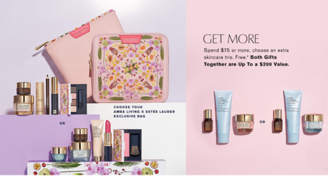 estee lauder gift with purchase Dillards icangwp blog feb 2019
