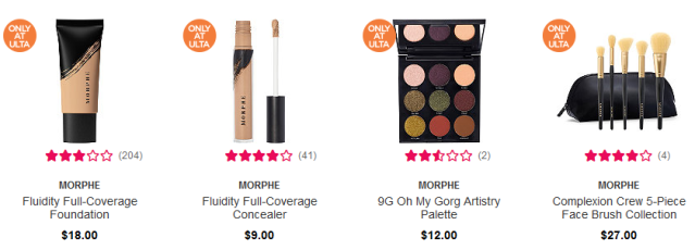 Morphe Buy Online In Select Stores Ulta Beauty