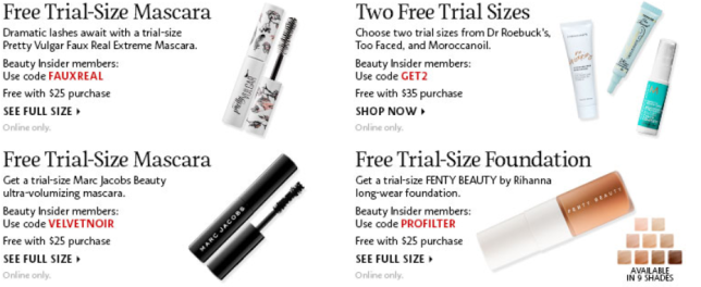 Sephora Coupons Promo Codes Coupon Codes Sephora feb 2019 24