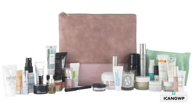 SPACE NK beauty edit gift bag 2019 icangwp blog