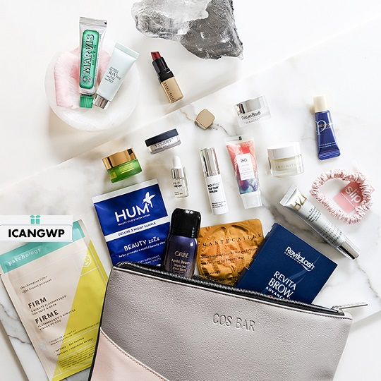 cos bar spring into beauty 2019 gift bag icangwp beauty blog exclusive preview