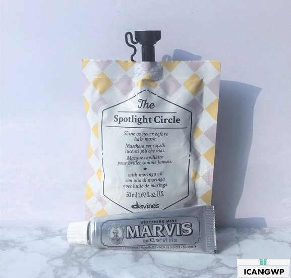 Davines The Spotlight Circle Hair Mask review by icangwp blog