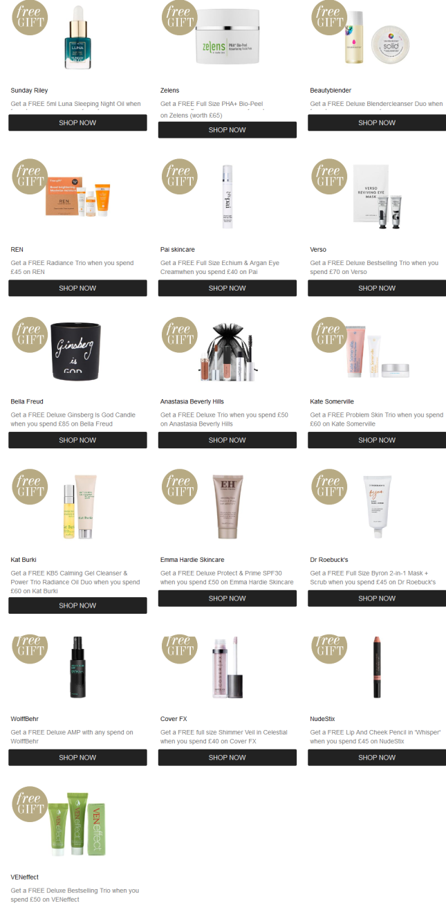Discount Codes Promotions Cult Beauty march 2019 (2)
