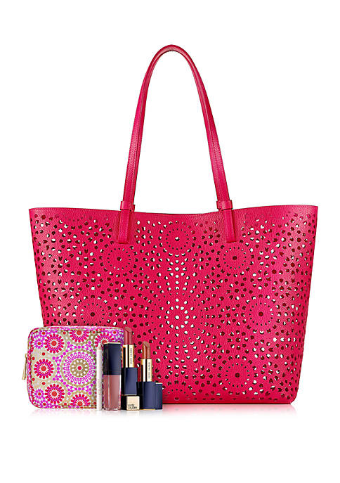 Estee Lauder Colors of Spring Purchase with Purchase belk icangwp blog