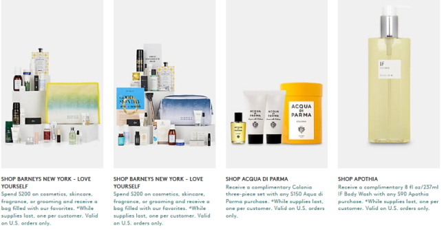 Gift with Purchase Barneys New York love yourself march 2019 icangwp blog 2