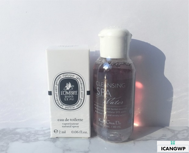 KOH GEN DO Spa Cleansing Water review by icangwp blog