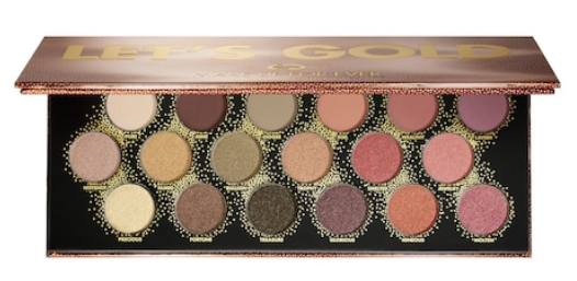 Let s Gold Eye Palette MAKE UP FOR EVER Sephora