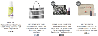 platinum Gifts with Purchase Ulta Beauty march 2019 icangwp