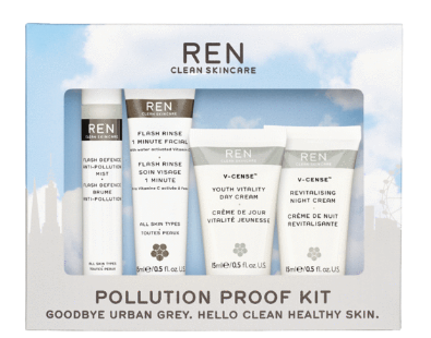 Pollution Proof Skincare Kit REN Clean Skincare