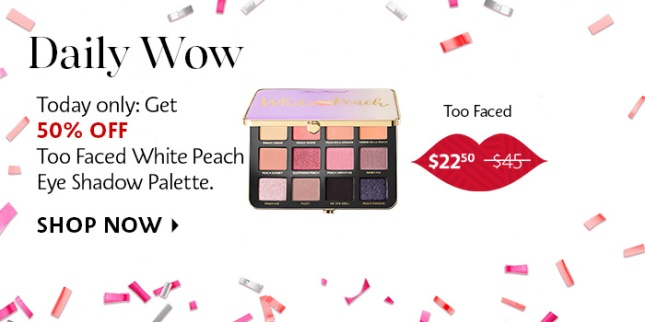 sephora daily wow deal march 2019