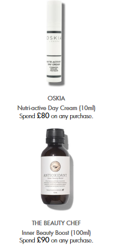 Space NK Offers and Gifts with Purchase