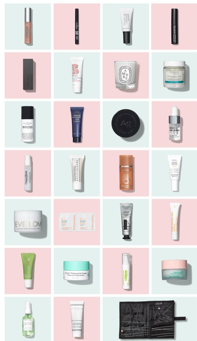 space nk uk goody bag 2019