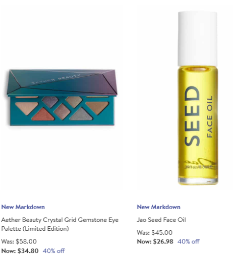 Beauty Sale aether Nordstrom