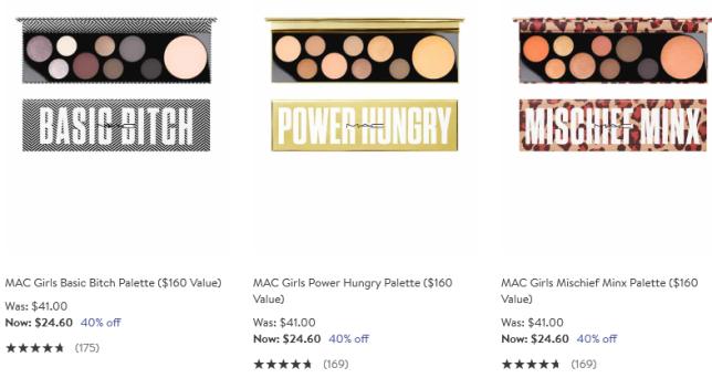 Beauty Sale mac palettes Nordstrom