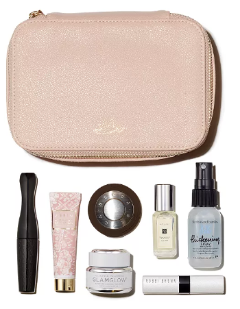 Bloomingdale s Darcy Miller To Glow Beauty Bag 120 value Bloomingdale s
