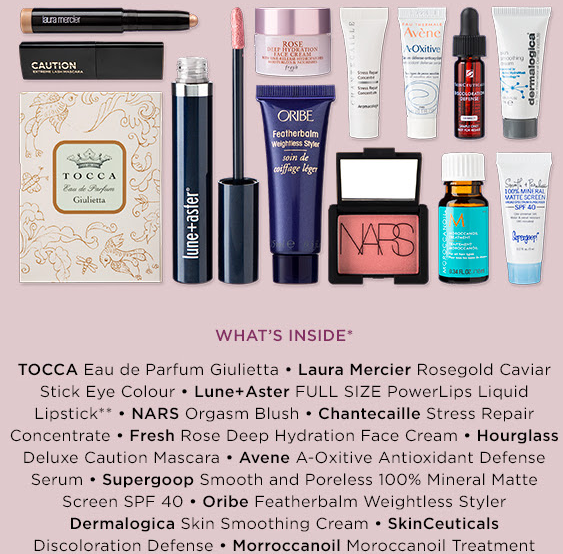 bluemercury 13 piece deluxe sample bag april 2019 icanwp blog