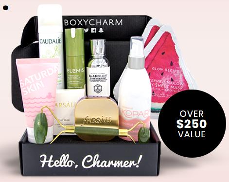 boxycharem box Skincare