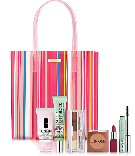 Clinique Beach Bag Essentials 130 Value belk