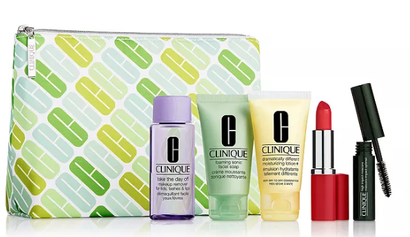Clinique Gift with any 40 Clinique purchase Bloomingdale s