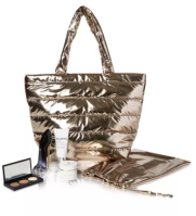 Macy s Beauty Collection 6 Pc. Gold Tote Set Created for Macy s Reviews Beauty Macy s