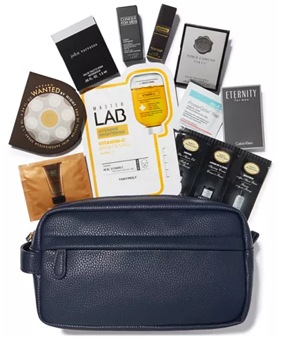 Macy s Beauty Collection Receive a FREE Toiletry Bag with 11 pc. Sampler with any Men s Fragrance or Grooming purchase of 95 or more Reviews Beauty Macy s