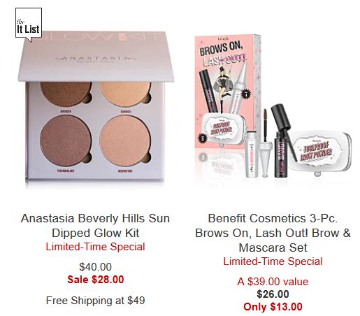 Makeup Sale Clearance Amazing Deals Macy s 2