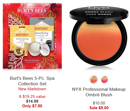 Makeup Sale Clearance Amazing Deals Macy s nyx sale