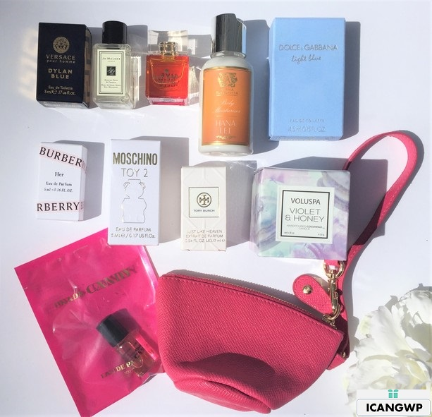 nordstrom beauty unboxing gift by icangwp beauty blog pink 11pc fragrance