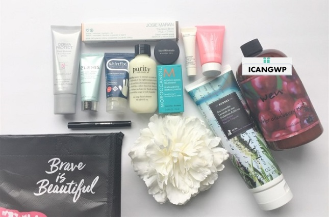QVC Beauty with Benefits Gift Bag 2019 icangwp beauty blog