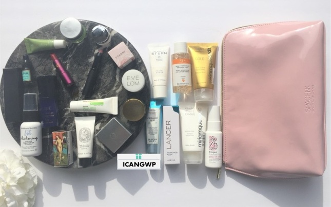 space nk gift haul review by icangwp blog