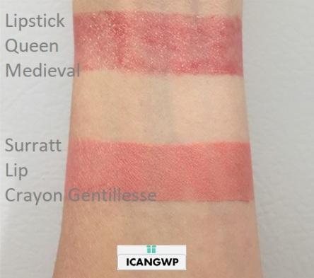 Surratt Automatique Lip Crayon Gentillesse swatch by icangwp beauty blog