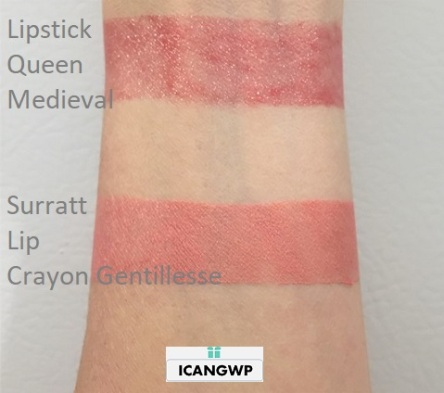 Surratt Automatique Lip Crayon Gentillesse swatch by icangwp beauty blog