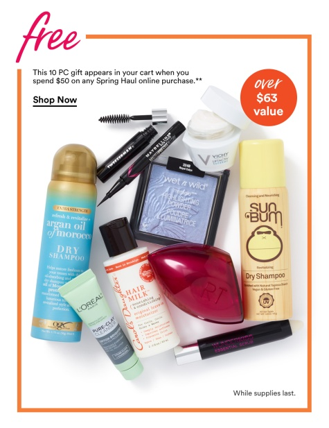ulta 10pc gift spring haul 2019 icangwp blog