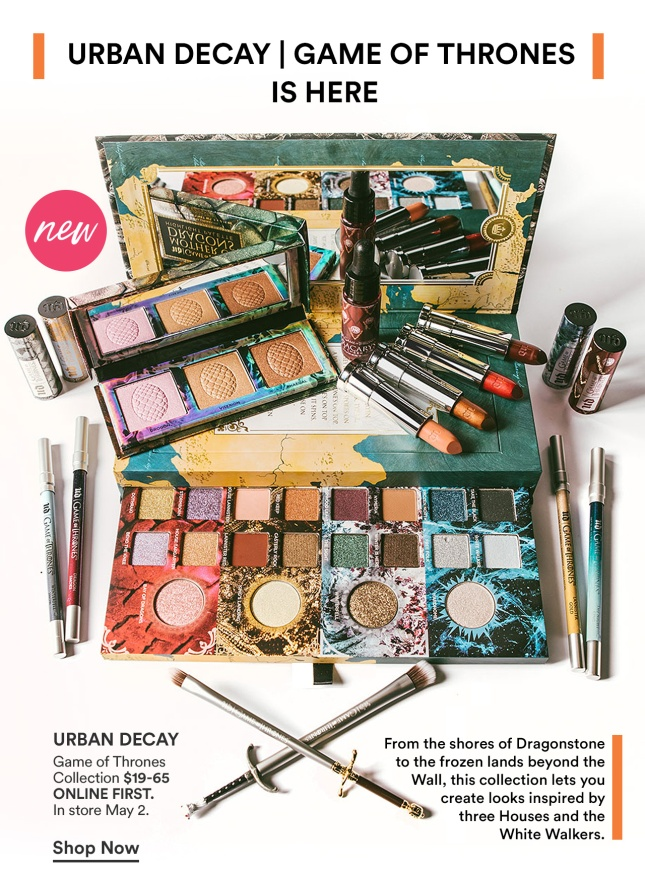 urban decay game of thrones icangwp blogl