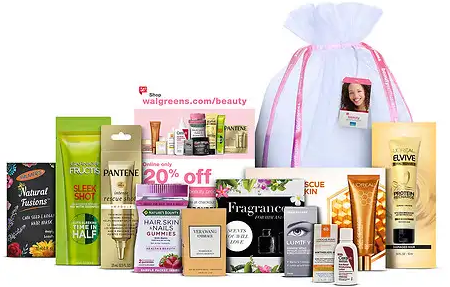 Walgreens Sample Bag april 2019