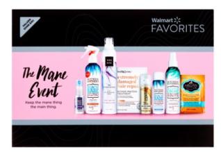 Walmart Beauty Favorites The Mane Event Walmart.com