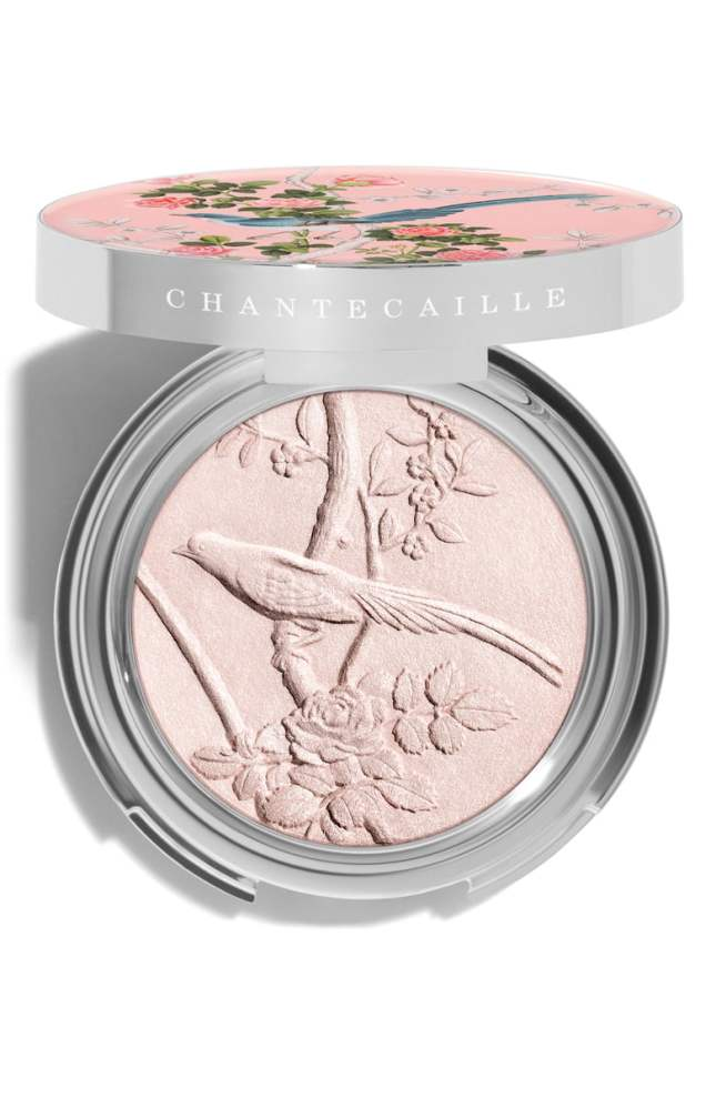 chantecaille rose highlighting powder