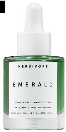 Emerald CBD Adaptogens Deep Moisture Glow Oil Herbivore Sephora icangwp blog