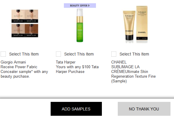 neiman marcus free beauty samples at checkout icangwp blog may 2019