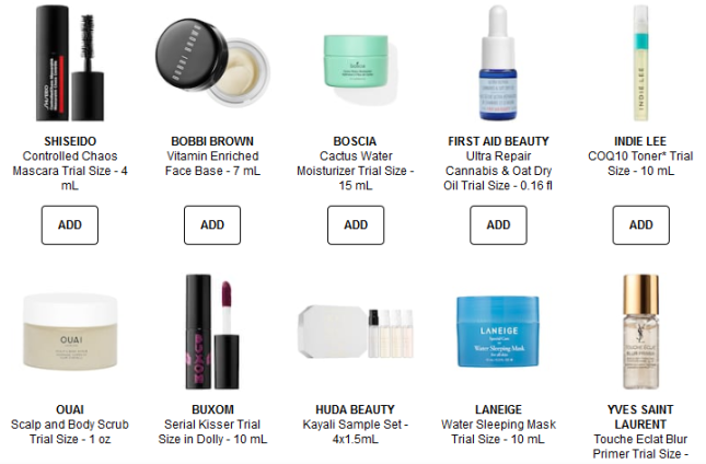 Sephora coupon pickyours