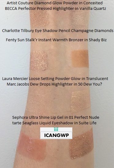 Sephora Favorites Sunkissed Glow Kit swatch indoor icangwp blog may 2019